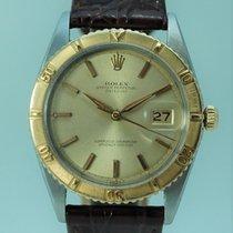 Rolex Datejust Turn-O-Graph Gold/Stahl 36mm Gold Keine Ziffern