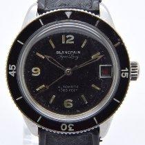 Blancpain Acciaio 37mm Nero