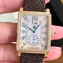 Fabergé Or rose 28mm Quartz occasion