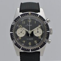 Sinn U1000 Steel 37,5mm Black Arabic numerals