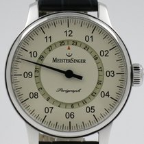 Meistersinger Perigraph AM1003 Good Steel 43mm Automatic