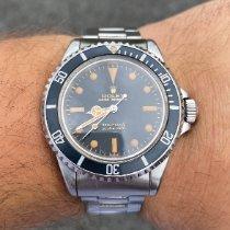 Rolex Submariner (No Date) Acél Fekete