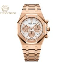 Audemars Piguet Royal Oak Chronograph Roségold 38mm Silber
