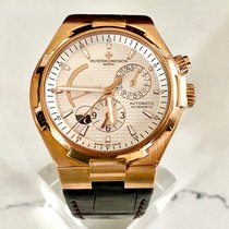 Vacheron Constantin Overseas Dual Time Rose gold Silver United States of America, New York, Brooklyn
