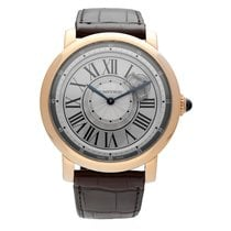 Cartier Rose gold 47mm Manual winding W1556205 new
