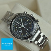 Omega Speedmaster Day Date Stål 39mm Svart Ingen tall