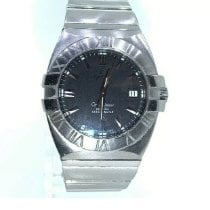 Omega Constellation Double Eagle Steel 41mm Silver Roman numerals