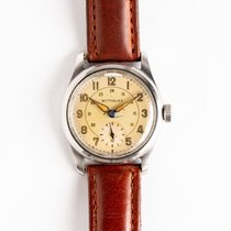 Wittnauer Steel 34mm Manual winding pre-owned