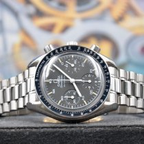 Omega Speedmaster Reduced Acero 39mm Negro Arábigos