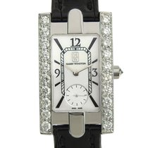 Harry Winston White gold 20mm Quartz 310LQW pre-owned