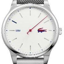 Lacoste Steel 43mm Quartz 2011026 new