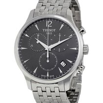 Tissot new Quartz Small seconds 42mm Steel Sapphire crystal