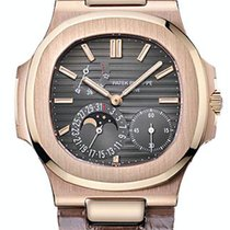 Patek Philippe Nautilus Rose gold 40mm Grey No numerals United States of America, New York, New York