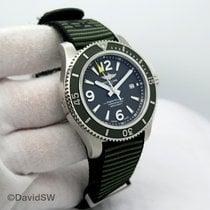 Breitling Superocean 44 подержанные 44mm Зелёный Дата Ткань