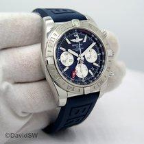 Breitling Chronomat 44 GMT Stahl Schwarz