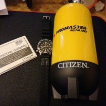 Citizen Promaster Marine pre-owned Black Date Weekday Rubber