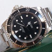 Rolex Submariner (No Date) Acier 40mm Noir Sans chiffres France, Thonon les bains