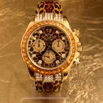Rolex Daytona Gult gull 40mm Oransje Ingen tall