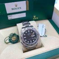 Rolex Explorer II Steel 42mm Black No numerals United States of America, New Jersey, Totowa