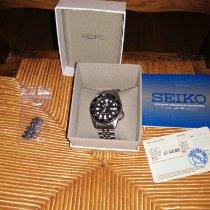 Seiko occasion Remontage automatique 38mm Noir Verre minéral 20 ATM