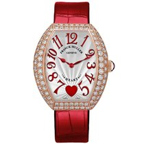 Franck Muller Heart Rose gold 34mm Silver