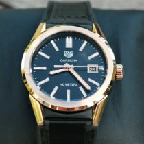 TAG Heuer Carrera Lady Rose gold 36mm Black