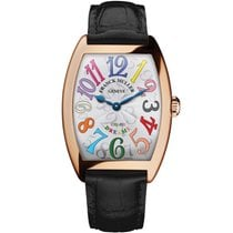 Franck Muller Rose gold Quartz Silver 28mm new Color Dreams
