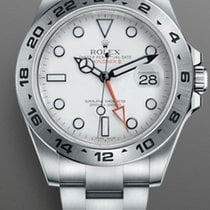 Rolex Explorer II Steel 42mm Black No numerals United States of America, New York, Brooklyn