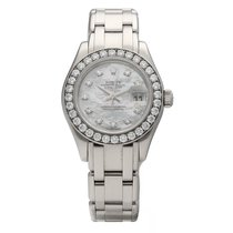 Rolex Lady-Datejust Pearlmaster White gold 29mm Mother of pearl No numerals United States of America, Florida, Sarasota