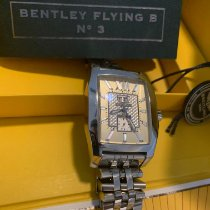 Breitling Bentley Flying B occasion 40mm Champagne Date Acier