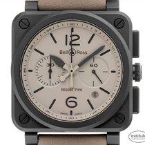 Bell & Ross BR 03-94 Chronographe neu 2016 Automatik Chronograph Uhr mit Original-Box und Original-Papieren BR 03-94