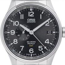 Oris Big Crown ProPilot GMT Stahl 45mm Grau Arabisch Deutschland, Stuttgart