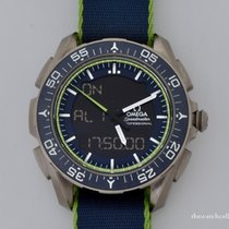 Omega Speedmaster Skywalker X-33 Titanium 45mm Groen