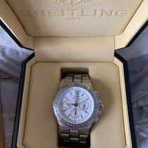 Breitling Hercules Steel 46mm White No numerals