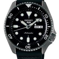 Seiko 5 Sports Сталь 43mm Чёрный