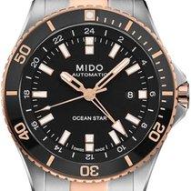 Mido Ocean Star Steel 44mm Black