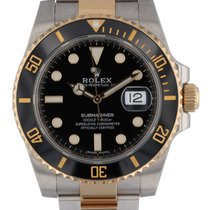 Rolex Submariner Date Gold/Steel 40mm Black United States of America, New Hampshire, Nashua