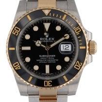 Rolex Submariner Date Gold/Steel 40mm Black