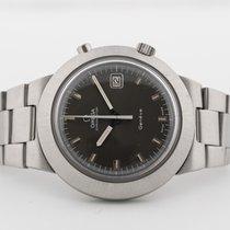 Omega Genève Steel 41mm Grey No numerals
