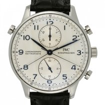 IWC Portuguese Chronograph IW371214 2008 pre-owned
