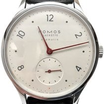 NOMOS Minimatik Steel 35.5mm White Arabic numerals United States of America, Florida