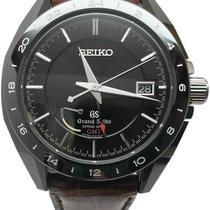 Seiko Automatic Black No numerals 46.4mm pre-owned Grand Seiko