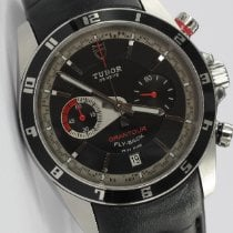 Tudor Grantour Chrono Fly-Back Zeljezo 40mm Crn