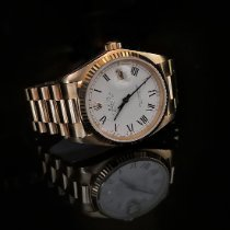 Rolex Datejust Or jaune 36mm Blanc Romains France, Bordeaux