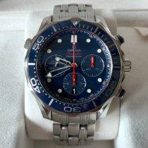 Omega Seamaster Diver 300 M Acier 44mm Bleu Sans chiffres France, Neydens