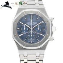 Audemars Piguet Royal Oak Chronograph Staal 41mm Blauw