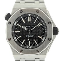 Audemars Piguet Royal Oak Offshore Diver Acero 43mm Negro