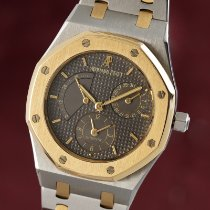 Audemars Piguet Royal Oak Dual Time Acero y oro 36mm Gris