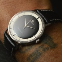 Movado Kingmatic Stål 34mm Sort Ingen tal