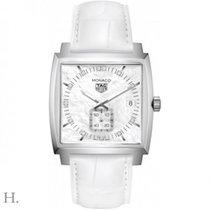 TAG Heuer Monaco Lady neu 2020 Automatik Uhr mit Original-Box und Original-Papieren WAW131B.FC6247